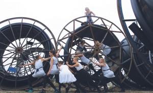 moderne dans - de meisjes